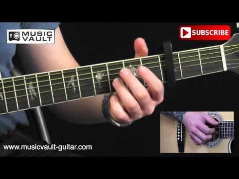 How to play small bump - Ed Sheeran - guitar lesson   Guitar ...