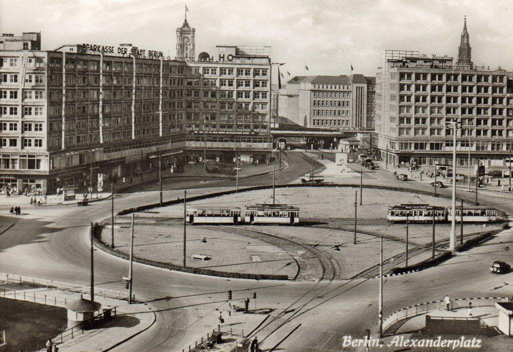 1959 Am Alexanderplatz Berlijn