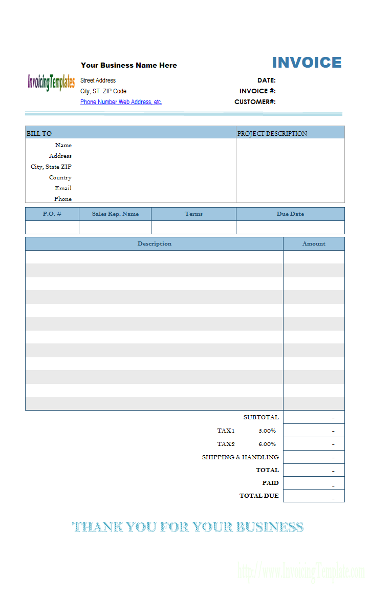 Simple Invoice Templates Invoice Template Word Estimate Template Invoice Template