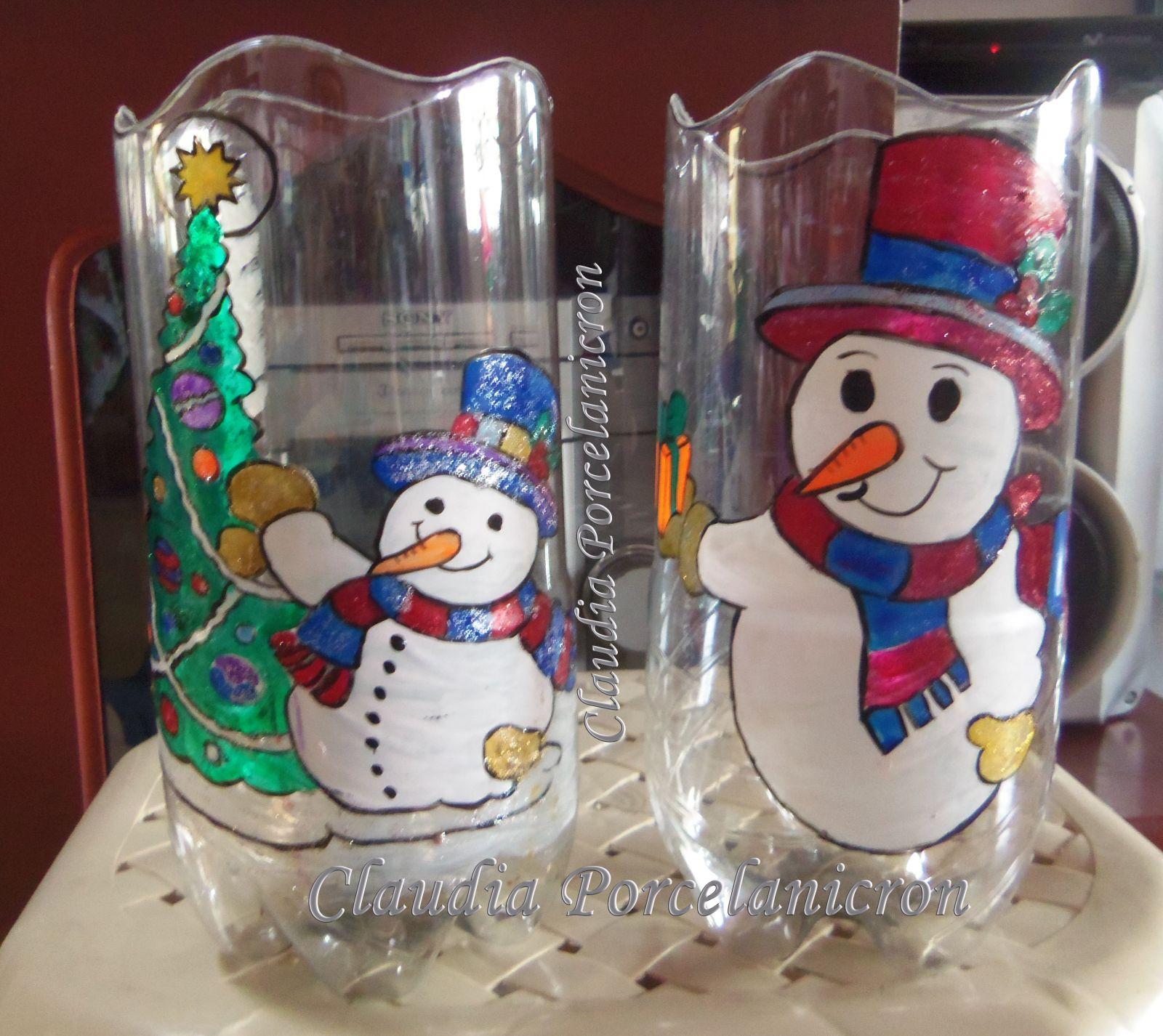 Faroles de botellas plasticas buscar con google for Adornos navidenos hechos con botellas plasticas
