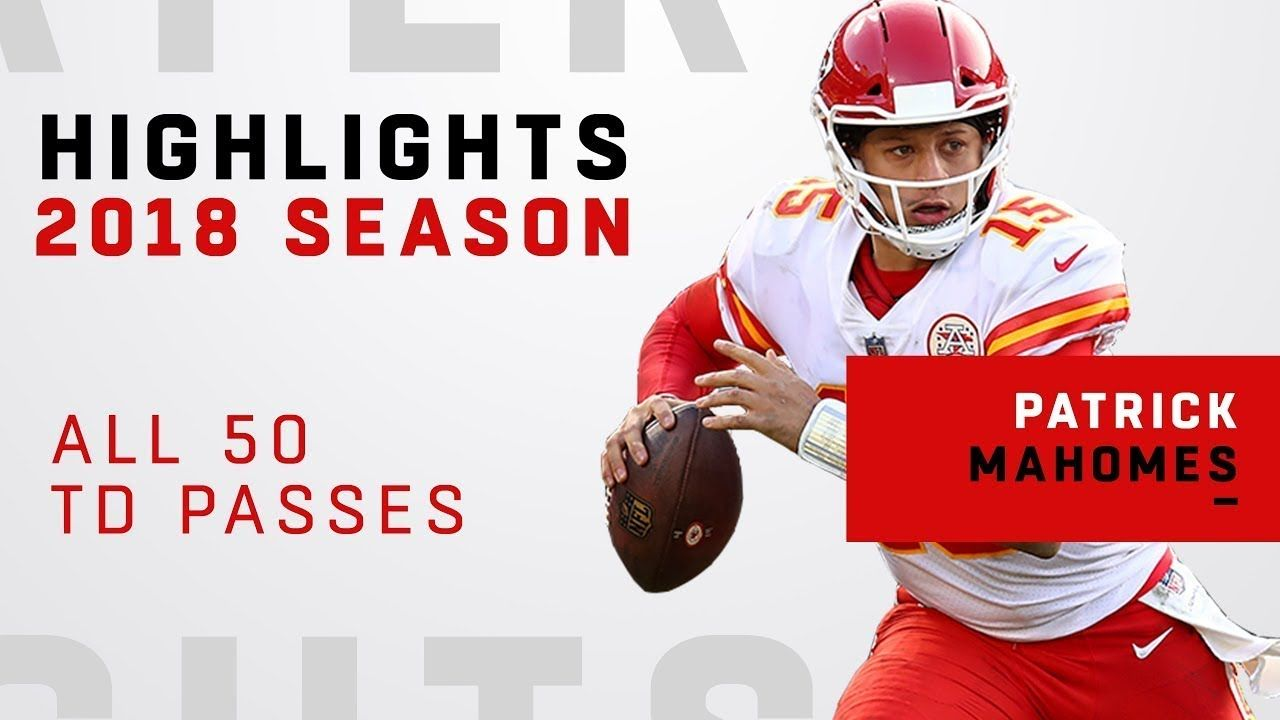 All 50 TD Passes by Patrick Mahomes in 2018! YouTube