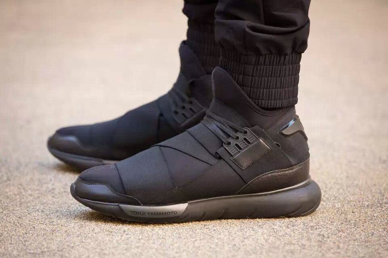 e7849cdda Adidas Y-3 Y3 Qasa High Yohji Yamamoto GD fashion black shoes ...