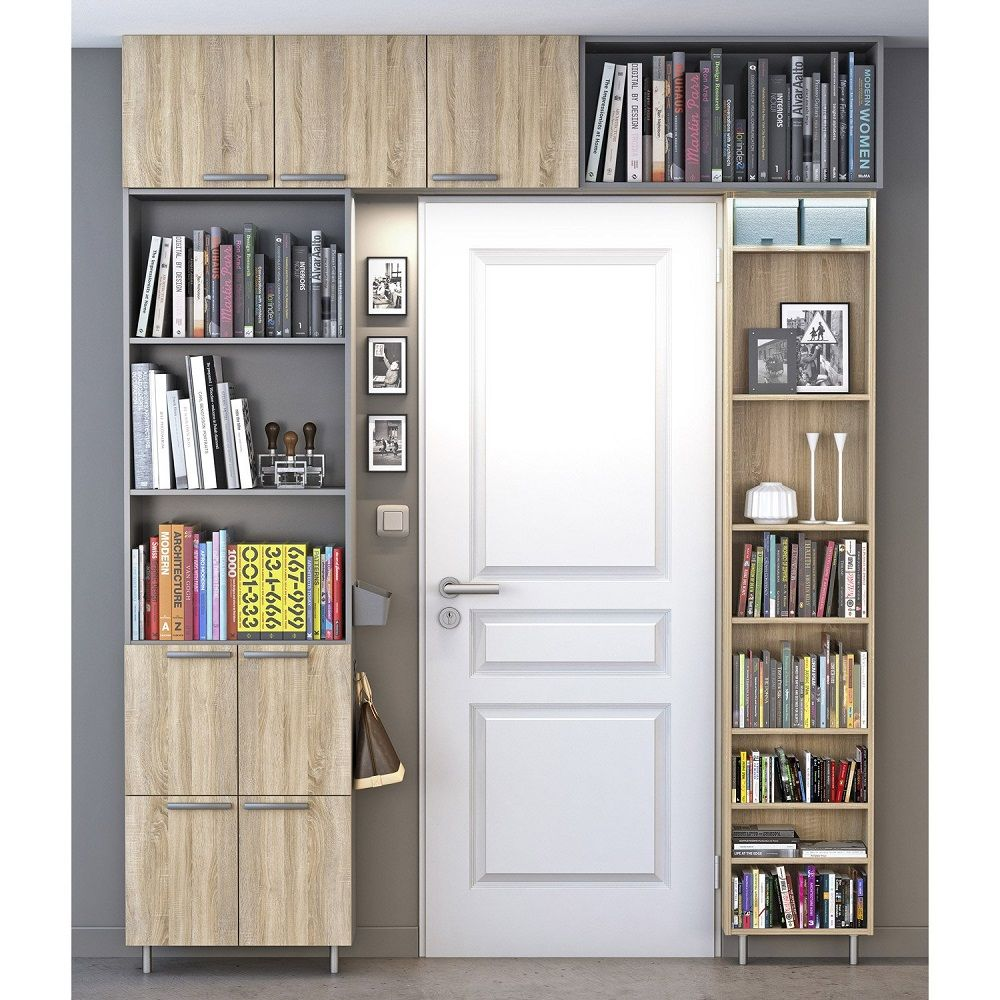 Bibliotheque Spaceo Home Effet Chene Pas Cher Bibliotheque Leroy Merlin Iziva Com Bibliotheque Leroy Merlin Meuble Rangement Bibliotheque