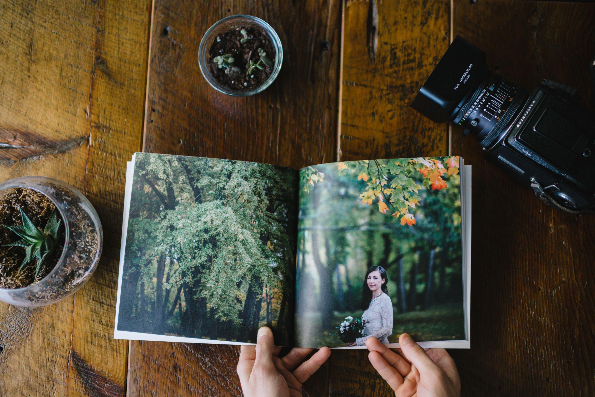 Storytelling Through Wedding Album Design
