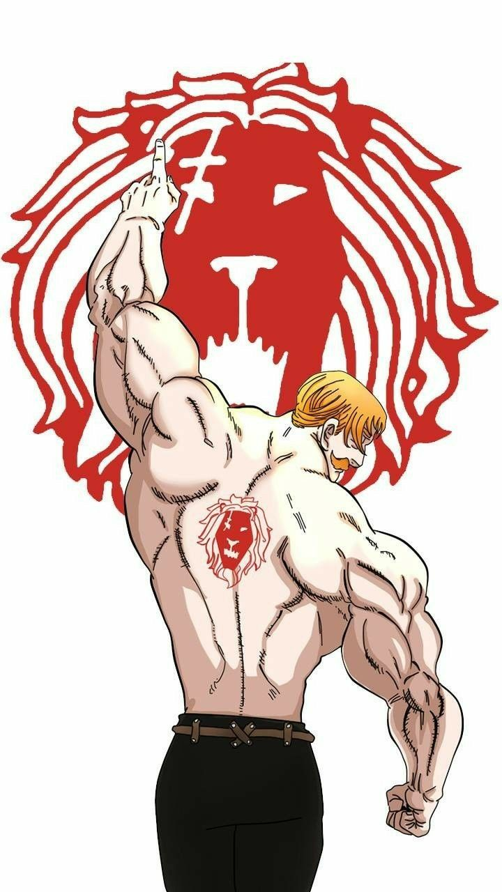 Photo of Escanor is one of the warriors of the 7 deadly sins, he is immortal at his level …