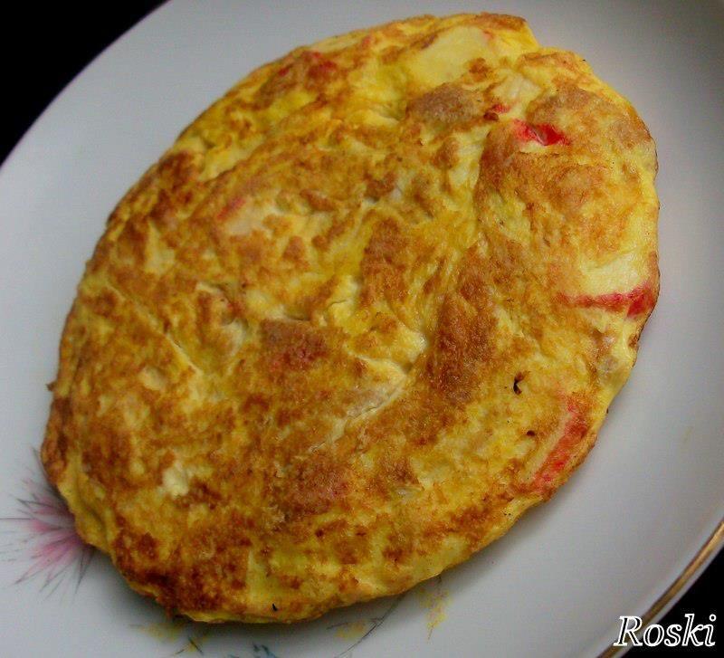 Tortilla con Atún y Surimi