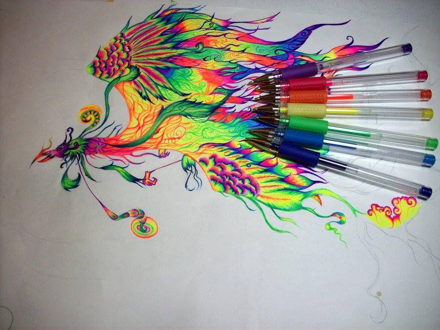 I Forgot How Cool Gel Pens Were!