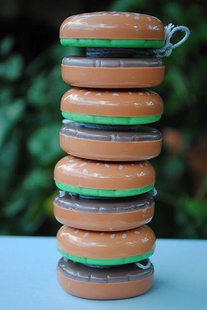 Hamburger YoYos