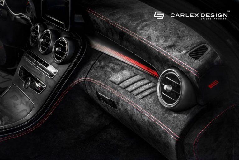Carlex Design Dresses the Mercedes-AMG C43 in Dark Alcantara for a Supercar-Worthy Look #mercedesamg