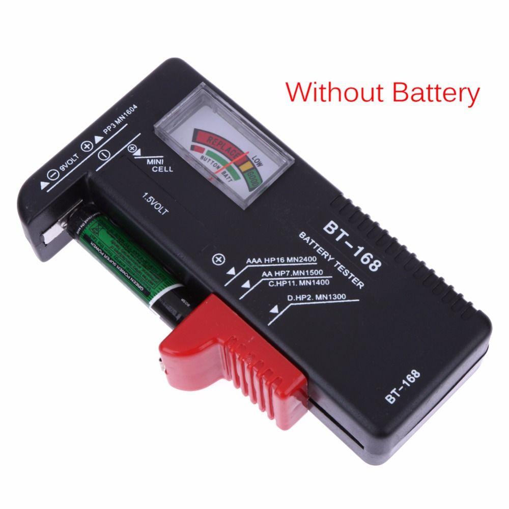Universel Bt168 Numerique Testeur De Batterie Volt Checker Pour Aa Aaa 9 V Bouton Multiples Taille Batterie Testeur Tension Me Batteries Testers Battery Tester