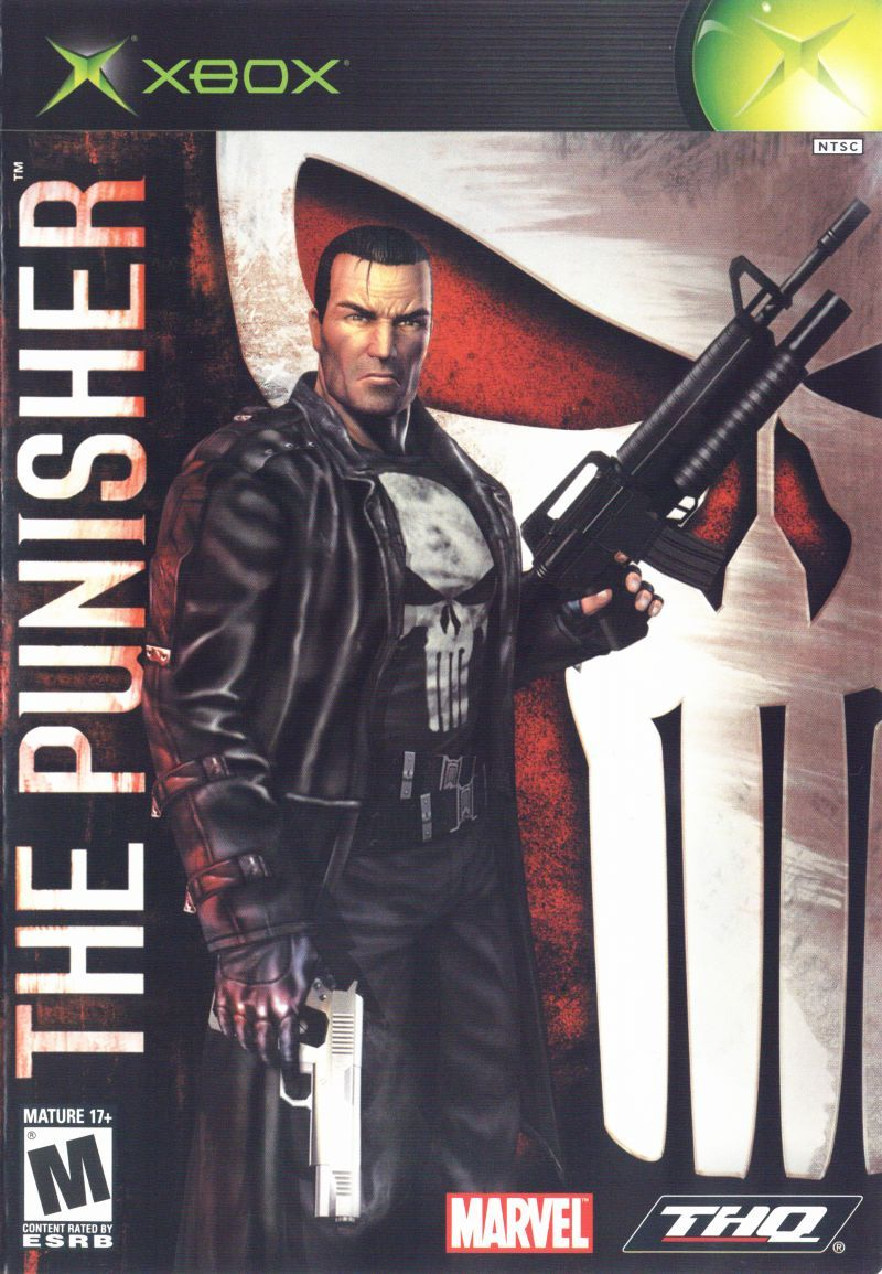the punisher xbox front cover video games owned pinterest