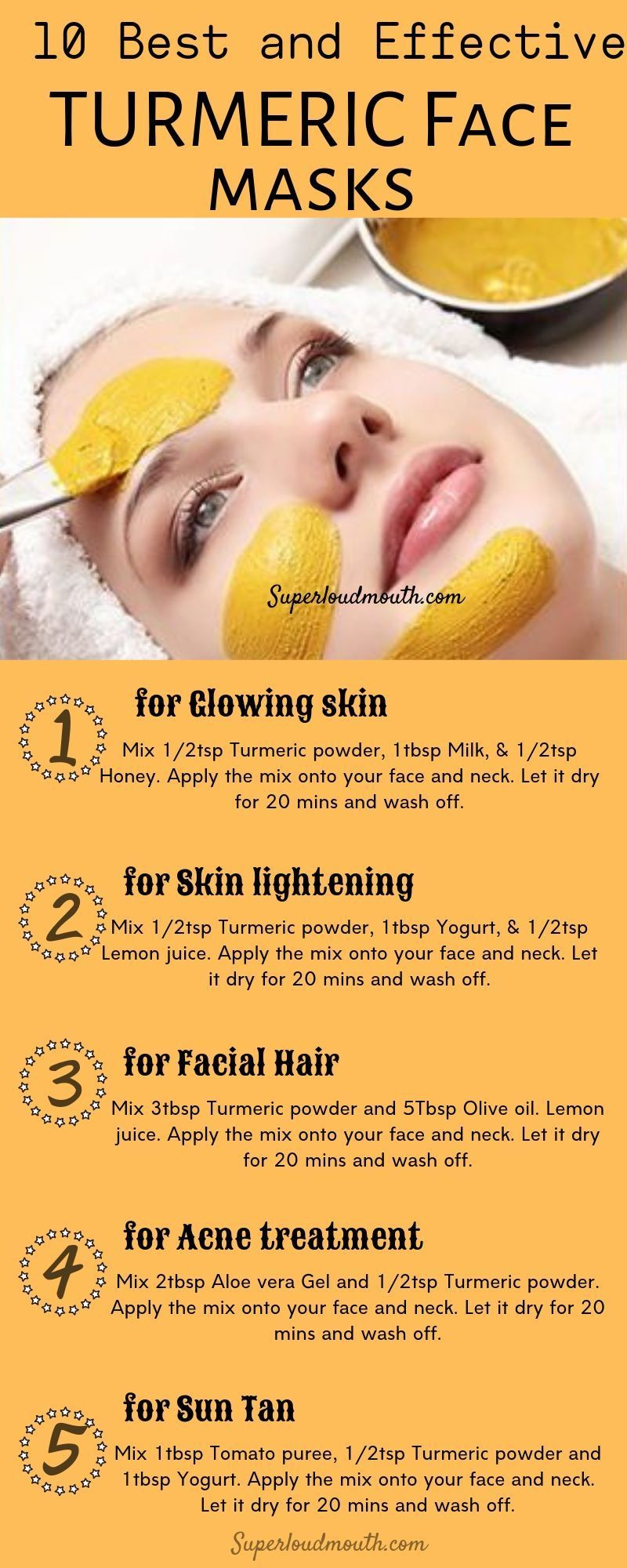 Diy turmeric face masks for all skin problems - #diy #Face #Masks #problems #skin #TURMERIC #skin
