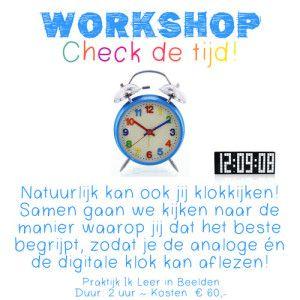 Klok kijken voor beelddenkers | Beelddenken - School en Clock