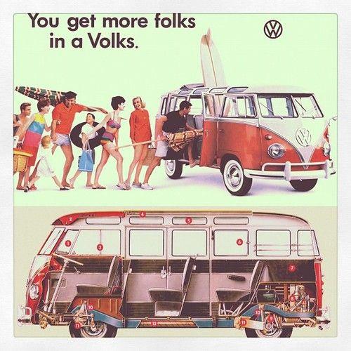 Good Old School Volkswagen Bus Volkswagen Vintage Volkswagen