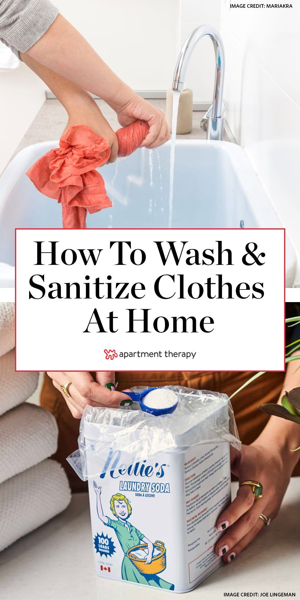 How To Wash And Sanitize Clothes When You Can T Go To A Laundromat