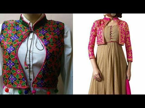 Ladies Jacket Full Cutting And Stitching In Hindi Ladies Ethnic