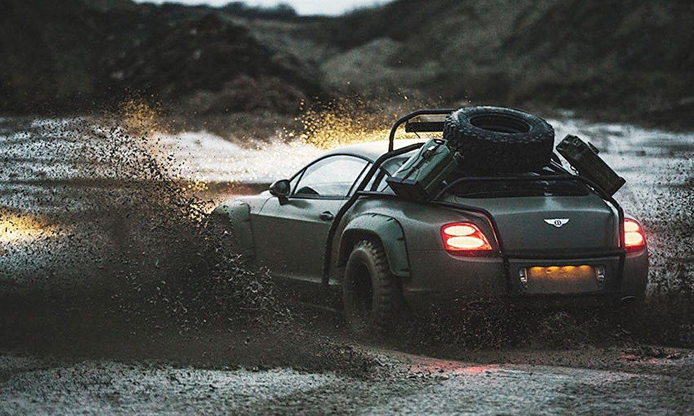 Bentley Continental Gt Rally Edition A Dakar Inspired Off Roader With Images Bentley Continental Gt Bentley Continental Bentley Gt