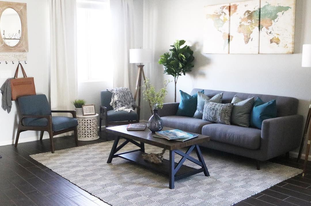 Allie Dark Grey Sofa Living Room Decor Modern Dream Living Rooms Trendy Living Rooms