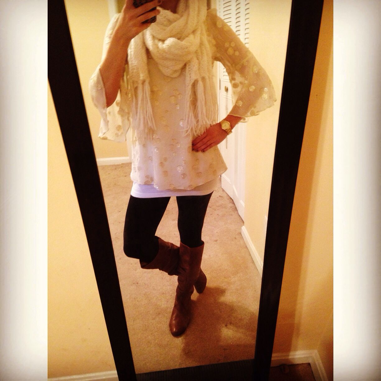 Fall or winter outfit