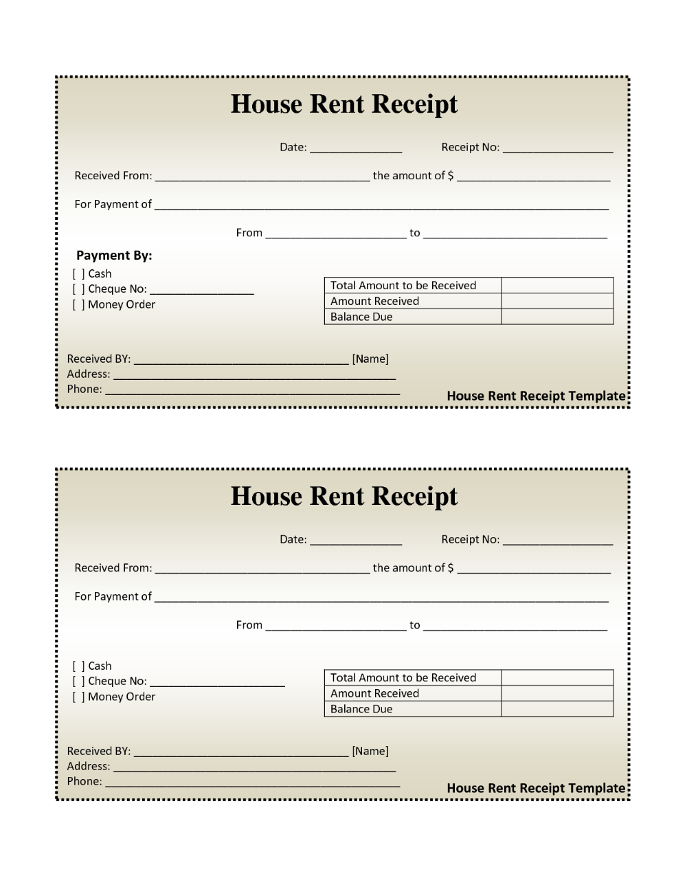 Free House Rental Invoice House Rent Receipt Template Doc In Monthly Rent Invoice Template 10 Professional Receipt Template Invoice Template Ticket Template