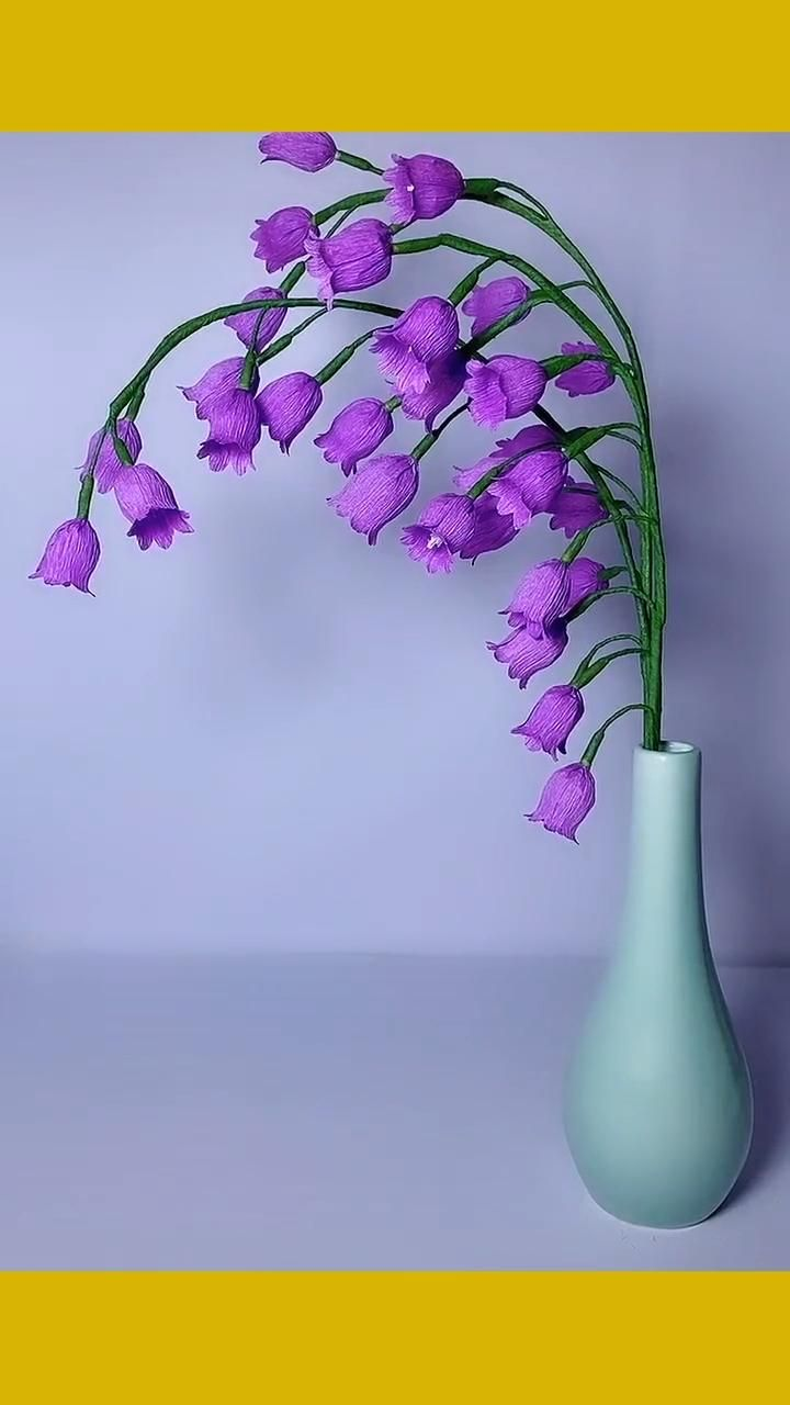 Photo of Purple lily of the valley Origami