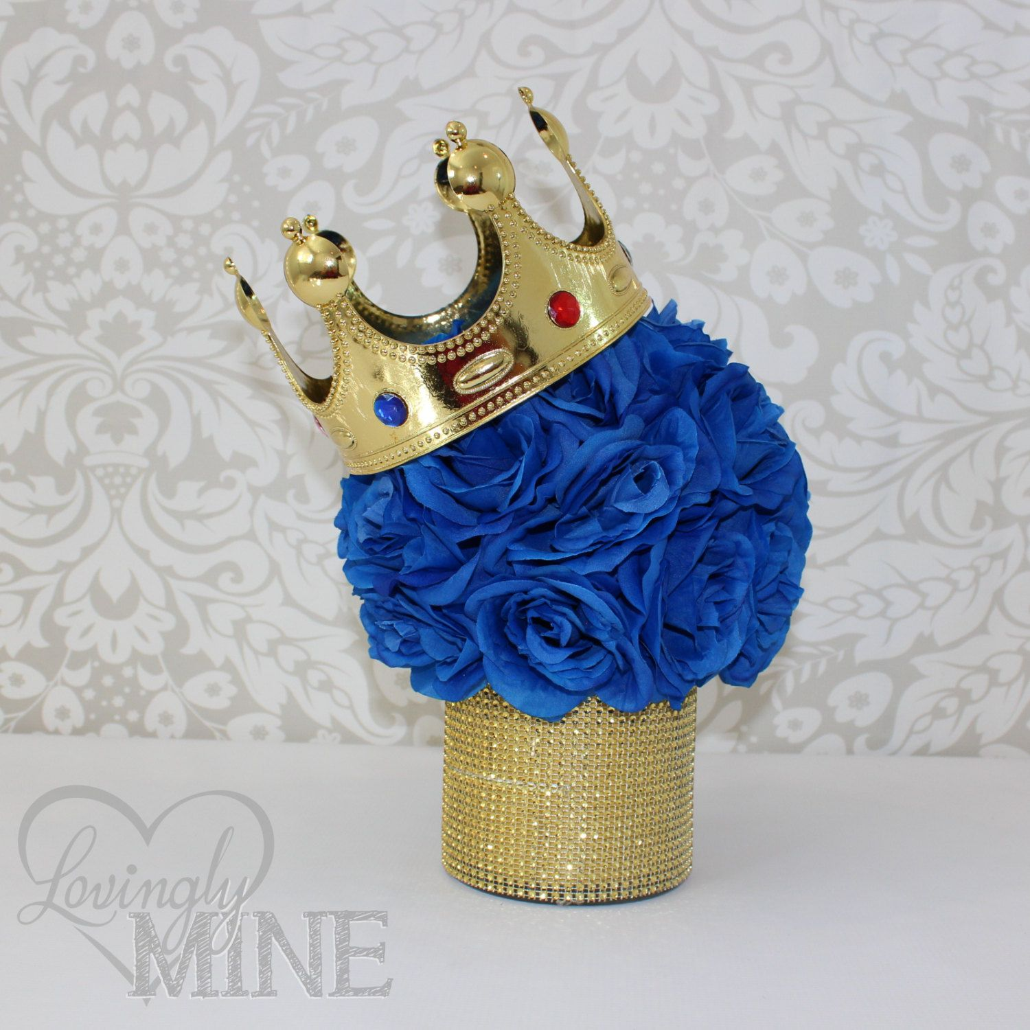 Little prince inspired centerpiece glass vase perfect for