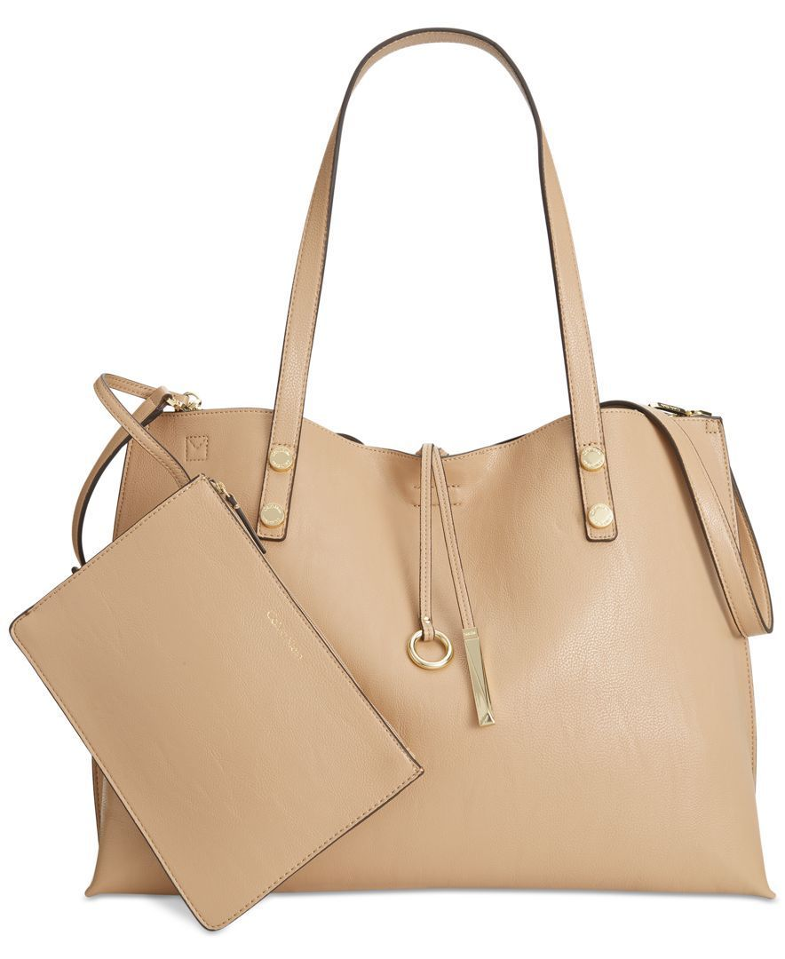 Calvin Klein Sonoma Extra Large Reversible Tote with Pouch  Reviews  Handbags  Accessories Calvin Klein Sonoma Extra Large Reversible Tote with Pouch  Reviews  Handbags...