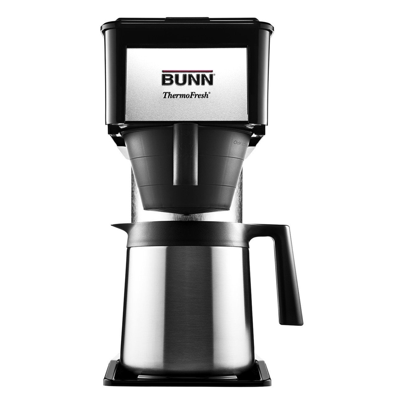 Bunn bt velocity brew cup thermal carafe home coffee brewer black