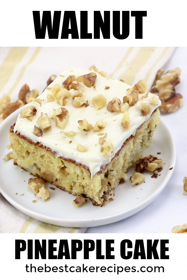 Walnut Pineapple Cake