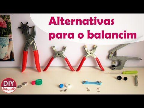 Alternativas Para O Balancim Alicate P Ilhos Botao De Pressao
