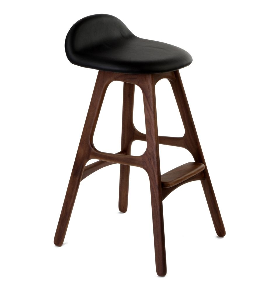 Erik Buch OD Mobler Teak Inspired Counter Stool