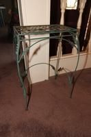"""Metal 24"""" Plant Stand"""