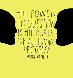 Indira Gandhi (via Lisa Congdon)