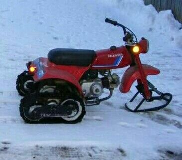 Image result for motorcycle snow