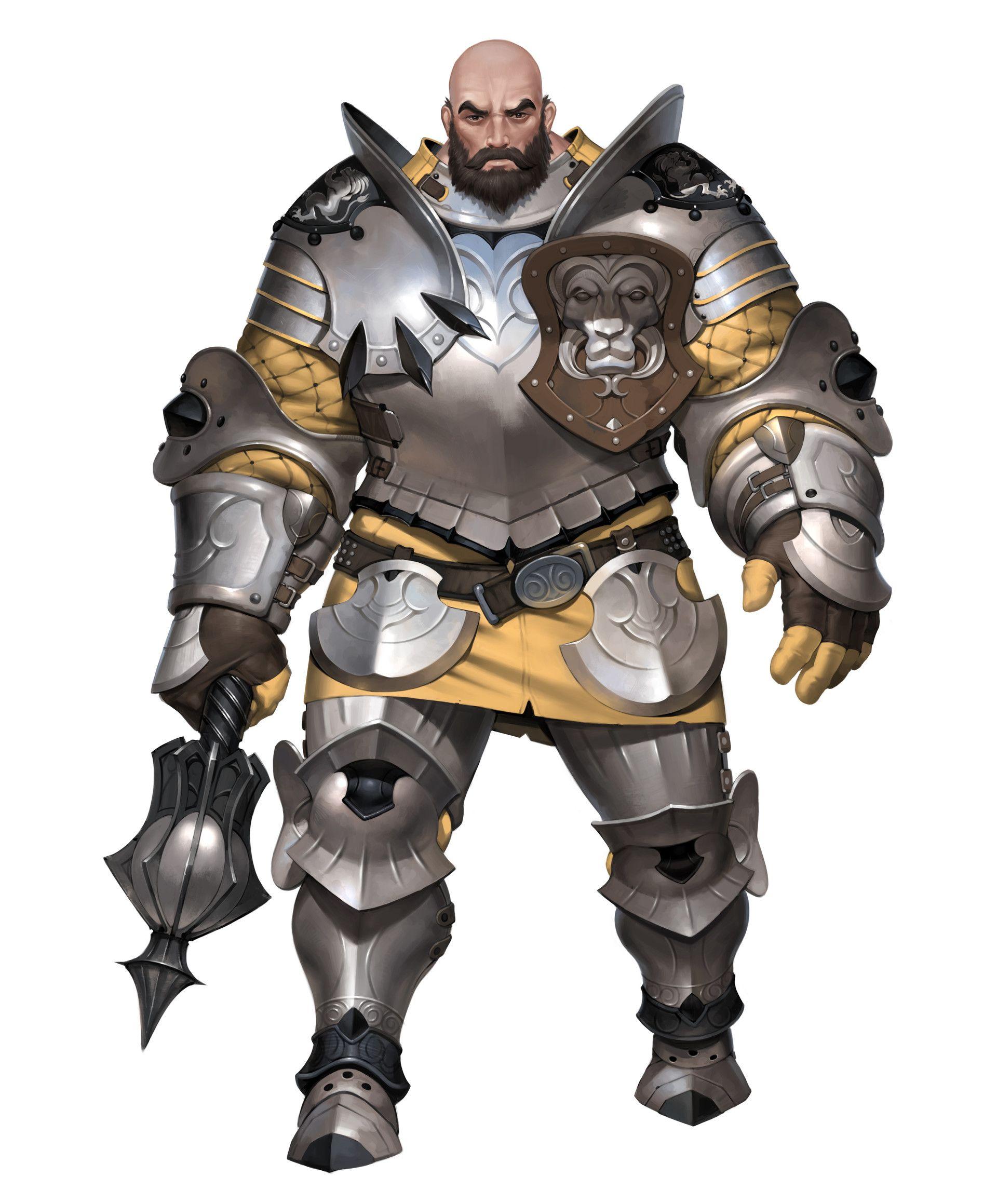 ArtStation Gatekeeper, ilsu jang Fantasy character