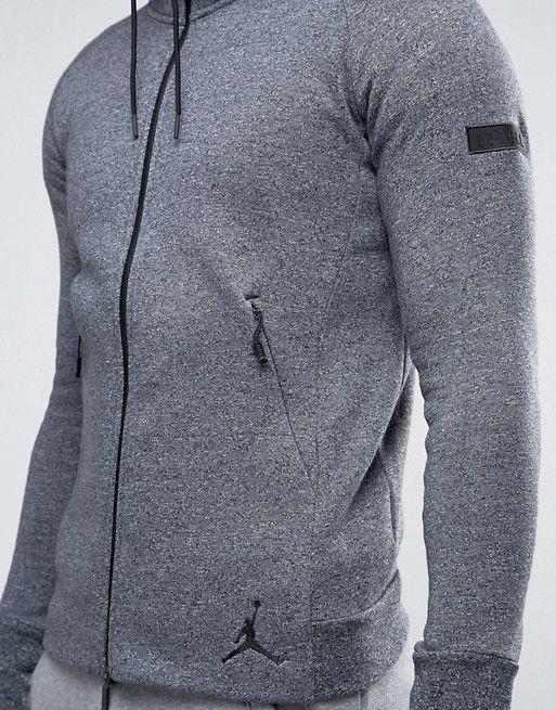 Black · Jordan | Nike Jordan Icon Zip Through Hoodie In Black 809470-010