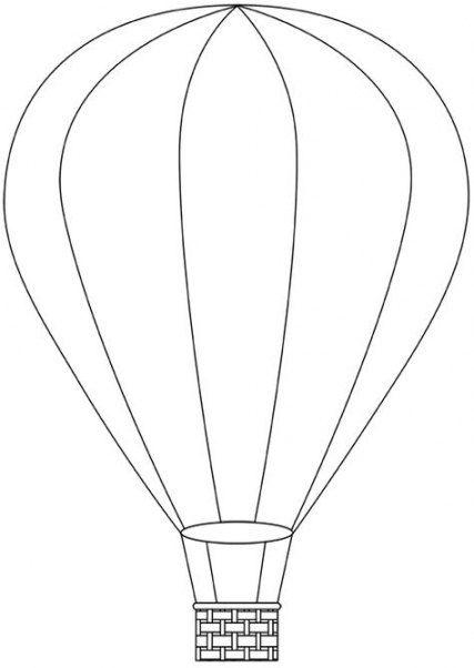 New Button Art Diy Free Printable Ideas Balloon Template Air Balloon Button Art