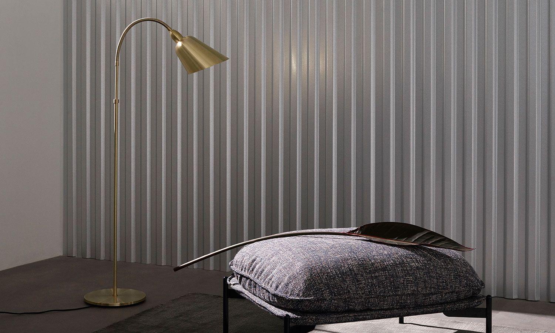 Tradition Bellevue Aj7 Brass Brass Floor Lamp Floor Lights Floor Lamp