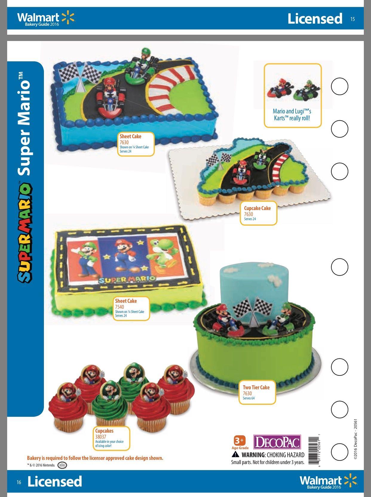 Walmart 2 Tier Super Mario Cake 58