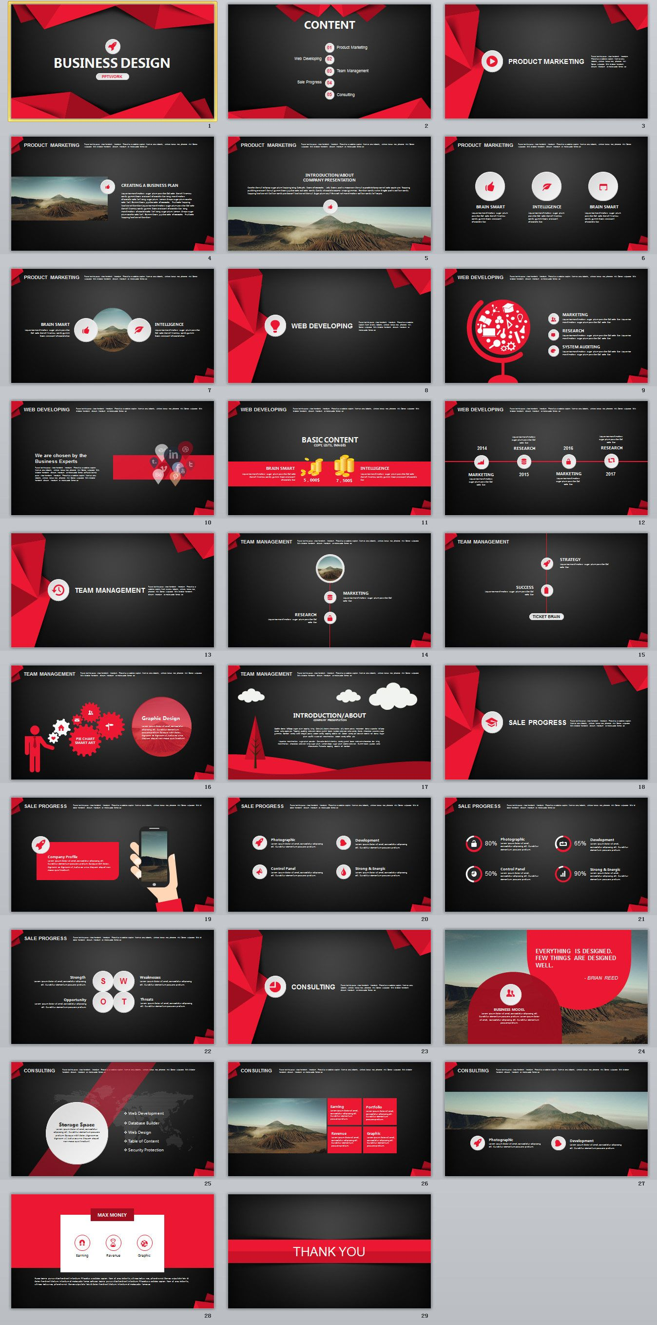 29 red black business plan powerpoint template on behance 29 red black business plan powerpoint template on behancepowerpoint templates presentation toneelgroepblik Image collections