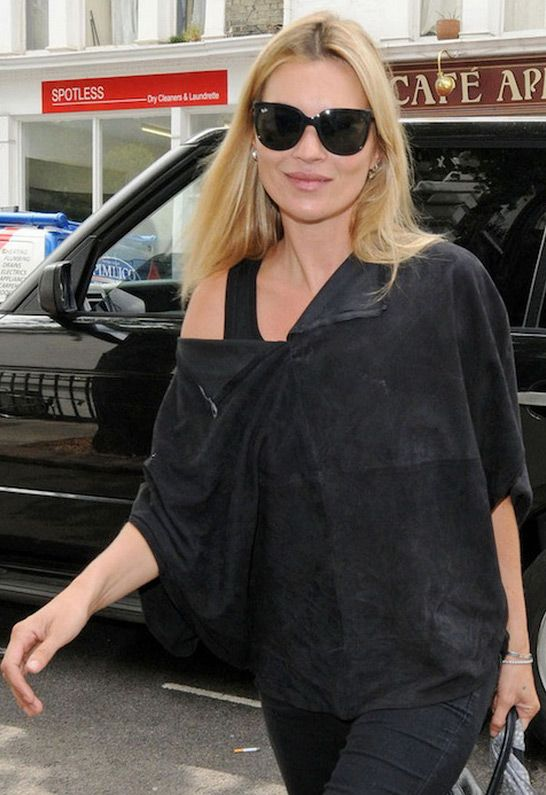 854fee7e23 Ray-Ban Cats 1000 Sunglasses in Black - as seen on Kate Moss ...
