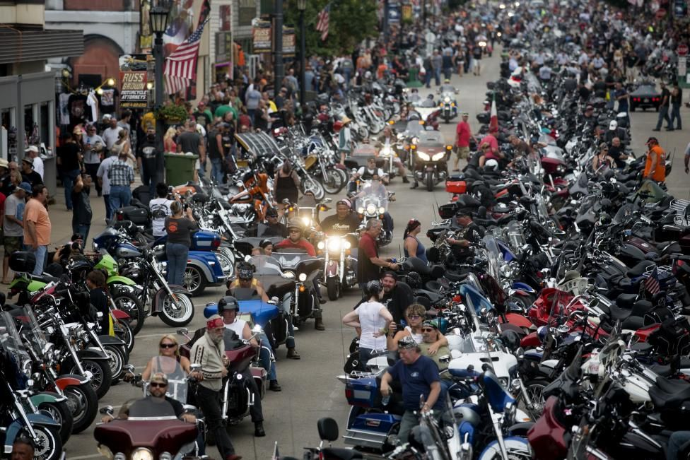 Sturgis Motorcycle Rally Bikers For Trump Sturgis Motorcycle