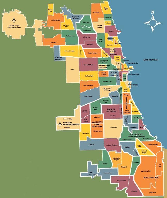 Chicago Neighborhoods or Community Areas Chicago neighborhoods