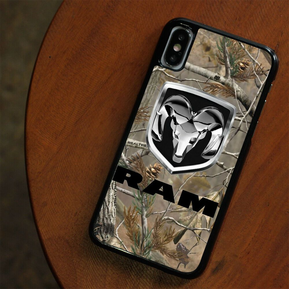 official photos d7dfa b6dfe New DODGE RAM CAMO LOGO For iPhone 6/6S 7/8 Plus X/XS Max XR Case ...