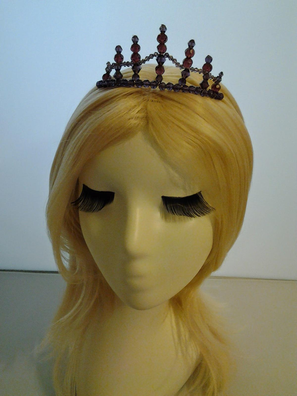 45.00$  Buy here - http://vidvr.justgood.pw/vig/item.php?t=wjctovr5162 - HC001 Handmade wire wrapped Tiara Crown Czech Crystal Tiara Wedding Bridal Tiara 45.00$