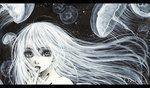 Jellyfish by cherriuki #cherriuki #DeviantArt #Jellyfish#cherriuki #deviantart #jellyfish