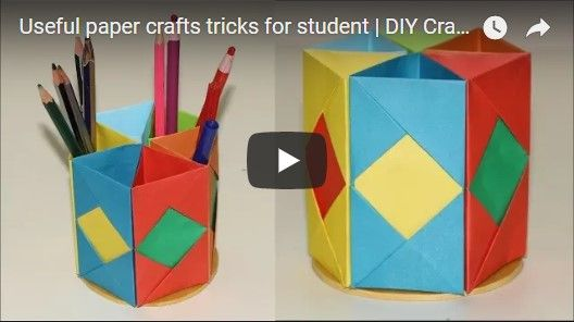 Useful Paper Crafts Tricks For Student Diy Crafts Ideas I Will