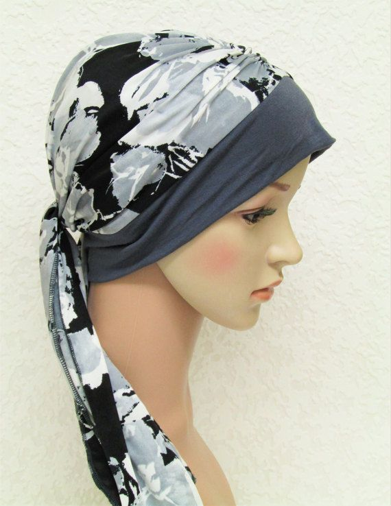 Turban snood women's turban with ties chemo by accessoriesbyrita