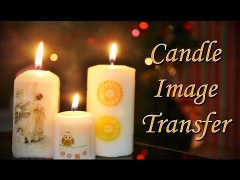 Candle Image Transfer - YouTube