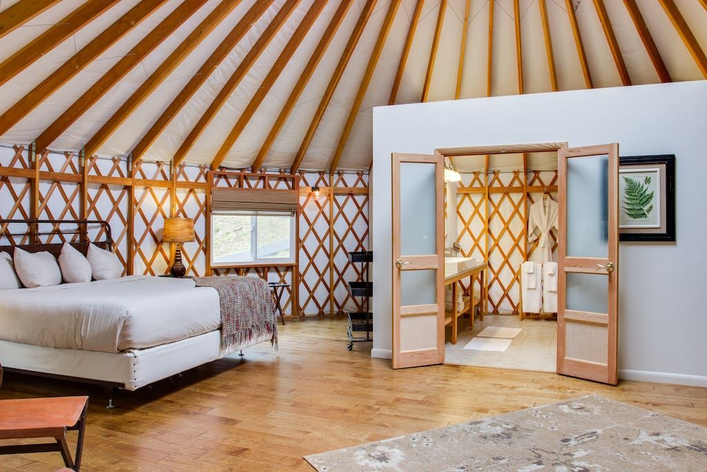 The Coolest Airbnb In Every State Yurt Interior Yurt Home Yurt Living
